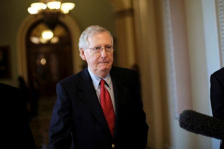 McConnell Says Tax Overhaul Is His Second-Greatest Achievement