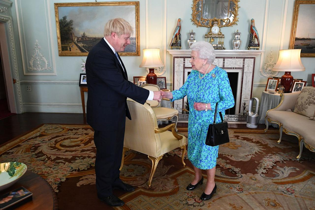 <p>When Boris Johnson met with the Queen on July 24, 2019, he became the fourteenth PM that the British monarch has worked with.</p>