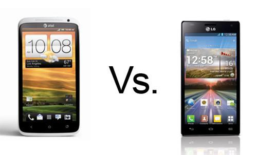 LG Optimus 4X HD vs HTC One X