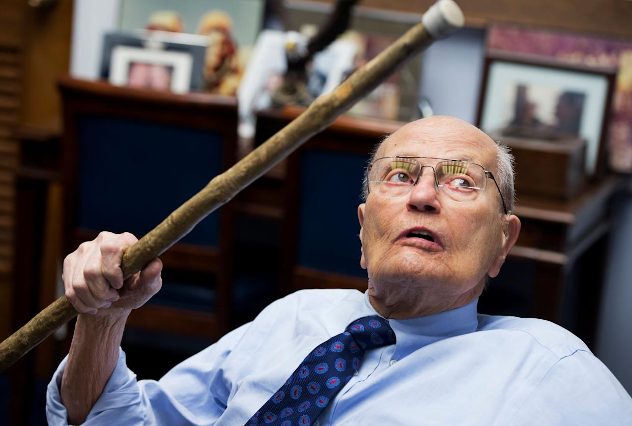 Former Rep. John Dingell Jr. (D-Mich.), the longest-serving member of Congress in history, died on Feb. 7, 2018 at age 92.