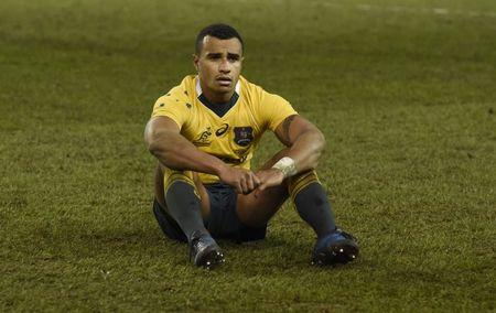 Rugby Union - Ireland v Australia - 2016 Guinness Series - Aviva Stadium, Dublin, Republic of Ireland - 26/11/16 Australia's Will Genia is dejected after the game Reuters / Clodagh Kilcoyne Livepic EDITORIAL USE ONLY.