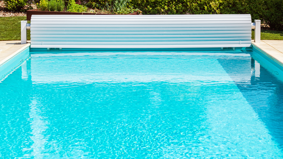 To prevent leaves from jamming up the filter and dirtying the water of your backyard pool, you've got to close up for the season.