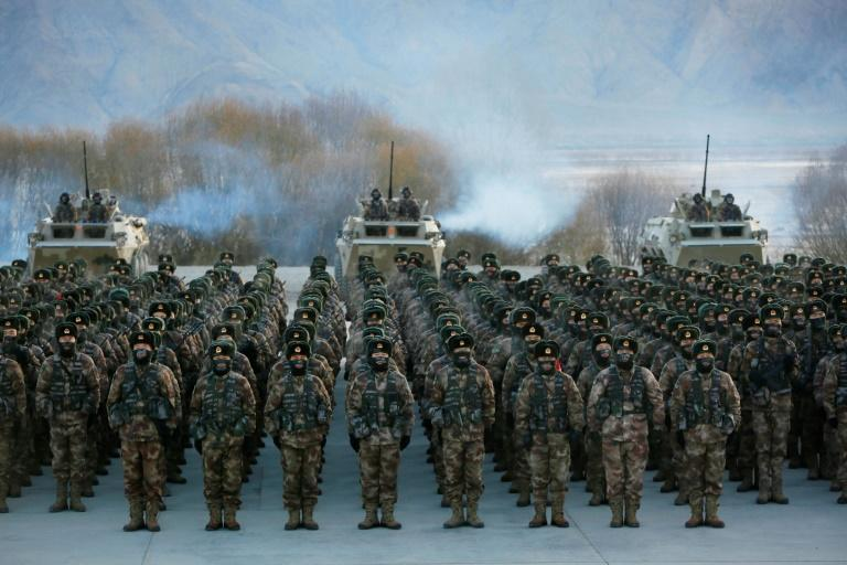 Experts say defence spending increases across the Pacific are a reaction to China's military expenditure (AFP/STR)