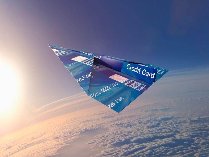 photo of travel credit card