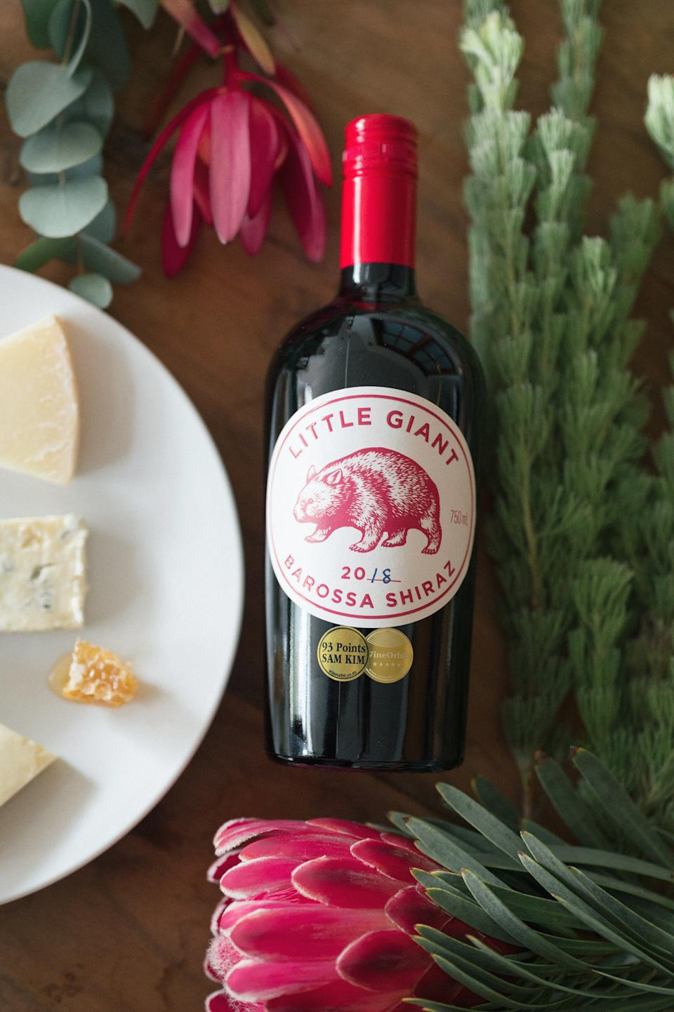 Little Giant Barossa Shiraz, $22. Photo: supplied.