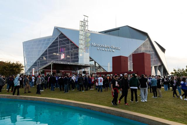 Fans traveling to Atlanta should expect to pay a premium almost everywhere except at the actual Super Bowl concession stands. (Getty)