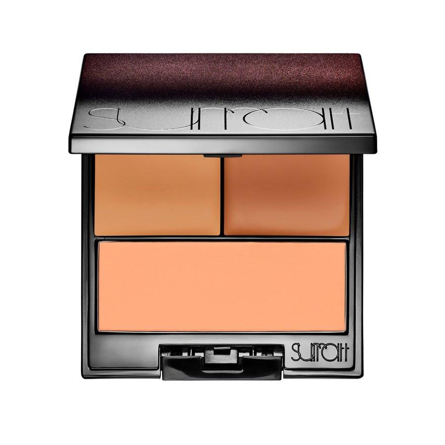 <p>Concealer palettes tend to lean dry, but Day says that this one from Surratt Beauty is the exception. The two concealer shades can be mixed and matched to brighten and conceal different areas of the face, while the finishing powder sets it all in place. </p>