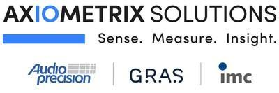 Axiometrix Solutions consists of a strong group of well-established brands that have served customers for over 35 years. Today, we are a global business with locations in North America, Europe and Asia, along with authorized partners and representation in more than 35 countries. Our three main product lines are industry-leading brands in each of their respective segments: Audio Precision, GRAS Sound & Vibration, and imc Test & Measurement.