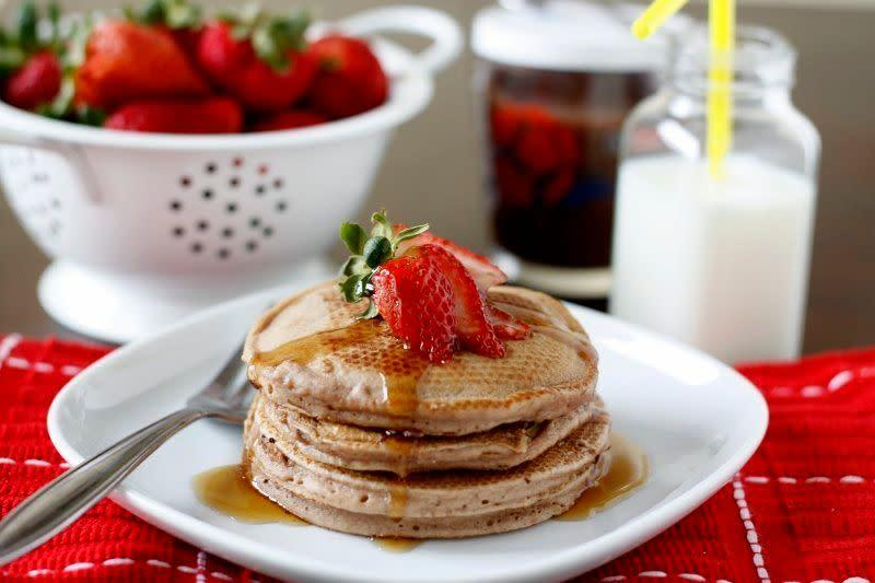 "<strong>Get the <a href=""http://www.bellalimento.com/2011/05/27/nutella-pancakes/"" rel=""nofollow noopener"" target=""_blank"" data-ylk=""slk:Nutella Pancakes recipe"" class=""link rapid-noclick-resp"">Nutella Pancakes recipe</a> from Bel'allimento</strong>"