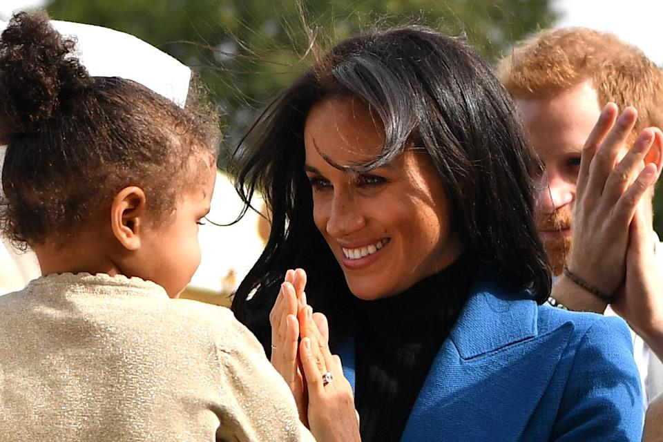 Meghan Markle and Prince Harry have made it clear they'd like to have children. (Photo: Getty Images)