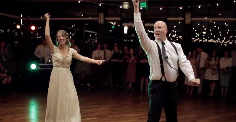 Move over, groom, this bride and dad dance is going viral because it's purely EPIC