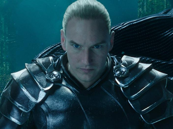 patrick Wilson in Aquaman