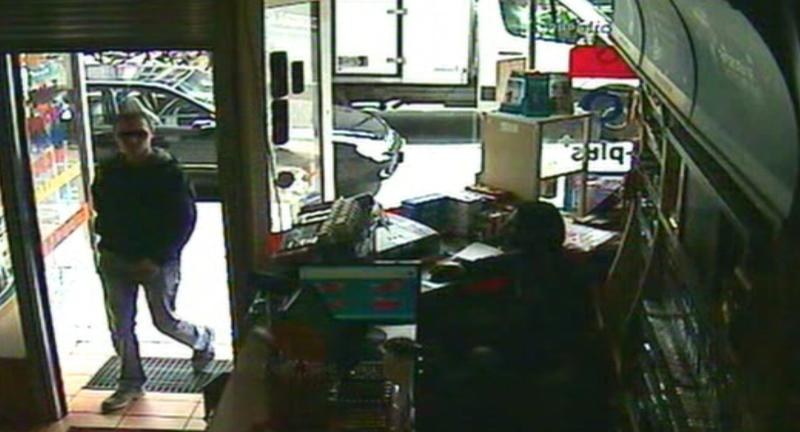 """This image taken from CCTV obtained by Associated Press video shows Luka Rocco Magnotta entering the Internet cafe in the district of Neukoelln in Berlin, Germany, Monday, June 4, 2012, where Kadir Anlayisli, who works in the cafe recognized him. """"I looked at him and thought I knew him from somewhere, because I read newspapers every day,"""" Anlayisli said. Luka Rocco Magnotta was apprehended on Monday in an Internet cafe in Berlin after an employee there recognized him and alerted police, Berlin police spokeswoman Kerstin Ziesmer said. The 29-year-old Canadian porn actor is accused of videotaping a killing and mailing the victim's body parts to the country's top political parties. (AP Photo/AP Video)"""
