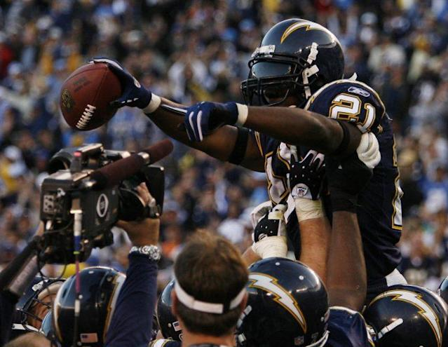 Tomlinson's 31-touchdown season is unfathomable in today's NFL. (AP)