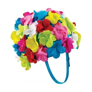 For those days when you would feel dryer going for a dip at your local pool than walking to and from the subway.Buy It! Speedo Flower Swim Cap, $22.28; walmart.com