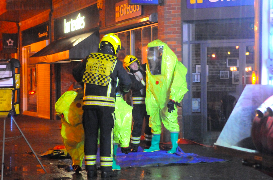 <em>Officers think several Russians were involved in the attempted murder in Salisbury (Rex)</em>