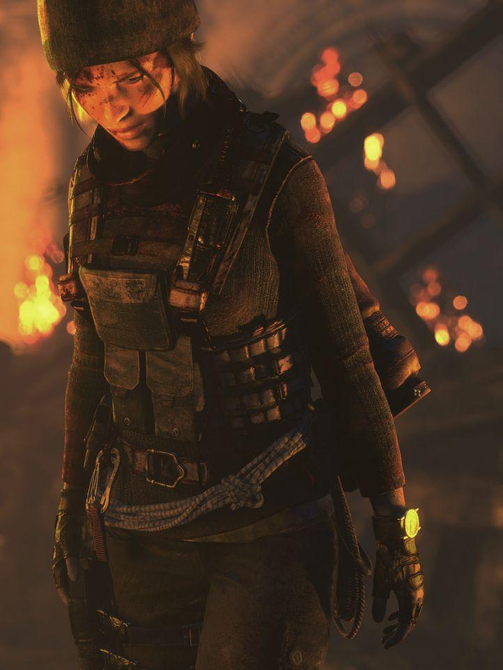 Lara Croft as she appears in the <i>Rise of the Tomb Raider </i>video game. (Photo: Square Enix)