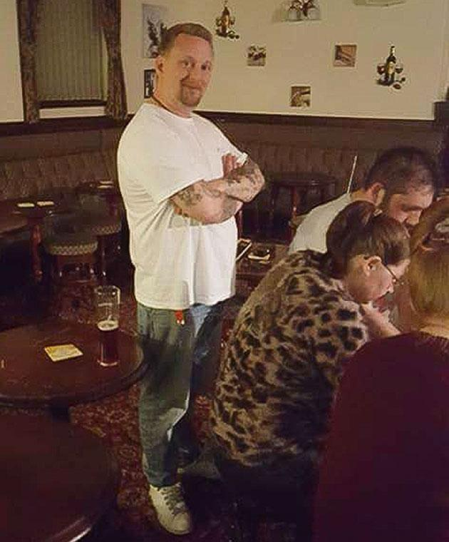 Sceptic Luke Jackson attends a ghost hunt. Photo: Caters