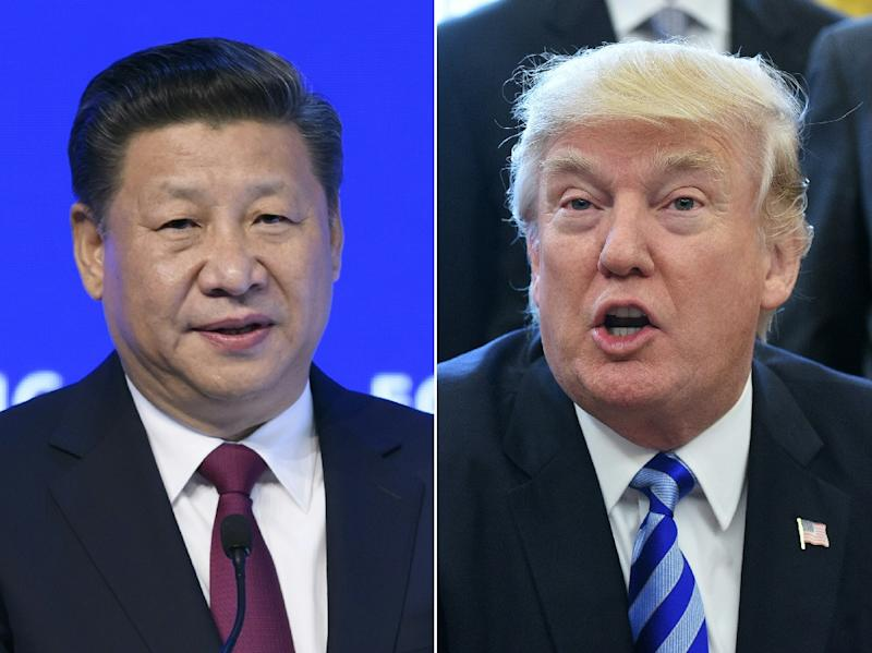 Investor attention focuses on a highly-anticipated meeting between US President Donald Trump and his Chinese counterpart Xi Jinping