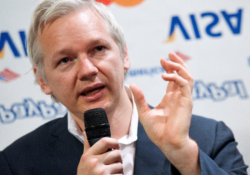 Julian Assange's arrest could spell the end of 13-year-old WikiLeaks (AFP Photo/LEON NEAL)