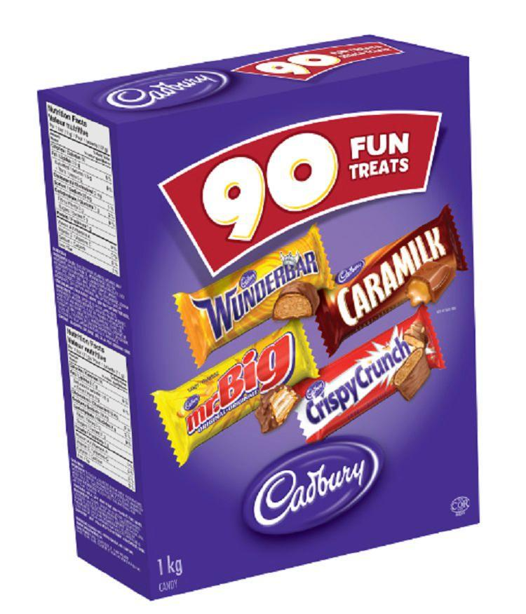 Cadbury Chocolate Assorted Fun Treats Candy.