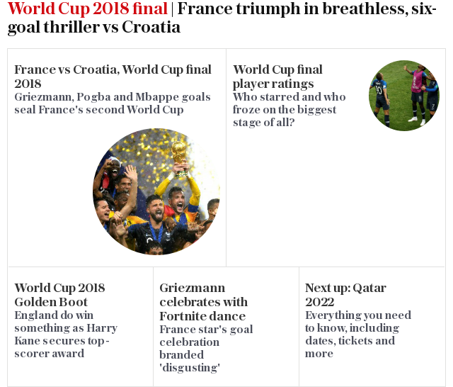 Olivier Giroud says World Cup win is best thing to happen to him despite not scoring at the tournament