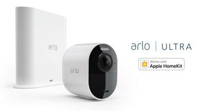 ARLO ANNOUNCES APPLE HOMEKIT COMPATIBILITY FOR ARLO ULTRA