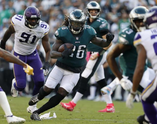 NFL Week 11: Will Eagles' Jay Ajayi play against Patriots? (UPDATE)