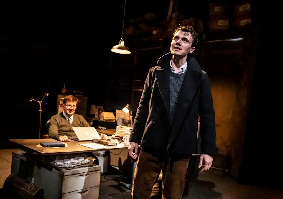 Will Barton and Alex Phelps in When Darkness Falls  (Pamela Raith Photography)