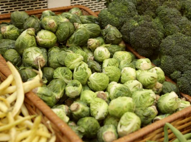 "<b>Cabbage, broccoli and Brussels sprout</b> are some important veggies that every man must include in his diet. These veggies are known to contain cancer-fighting chemicals, which are known to cut risk of prostate and colorectal <a href=""http://www.mdhil.com/cancer-arm-knowledge/"">cancer</a> in men. So add them in plenty in your daily diet."