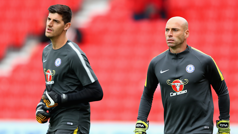 Chelsea will keep Caballero for another year amid transfer fight to keep Courtois