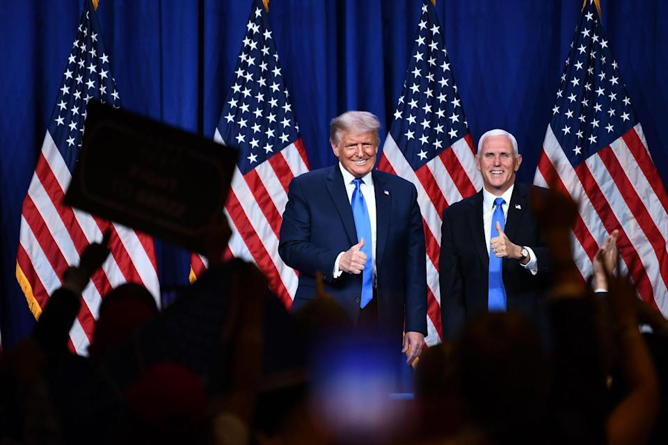 Image: Donald Trump and Mike Pence (Brendan Smialowski / AFP - Getty Images)