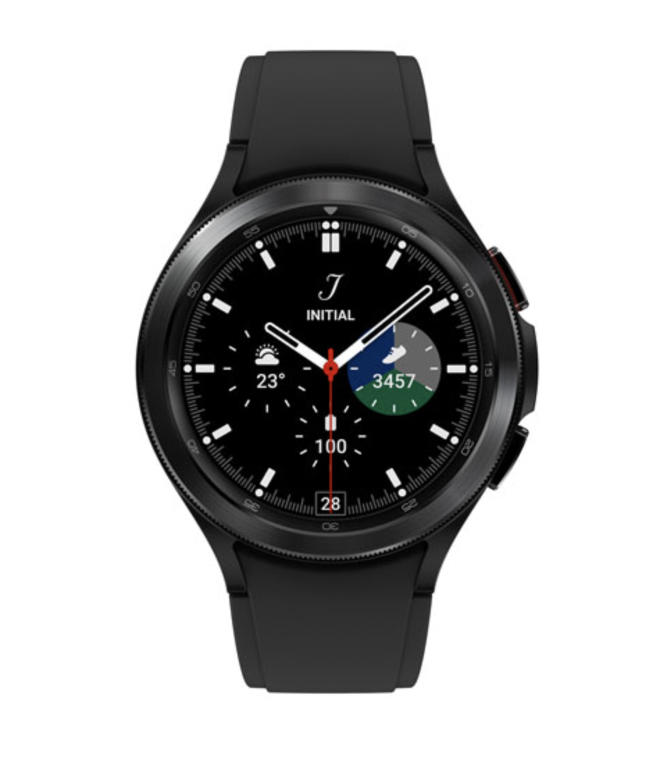 Samsung Galaxy Watch4 Classic 46mm Smartwatch with Heart Rate Monitor (Photo via Best Buy Canada)
