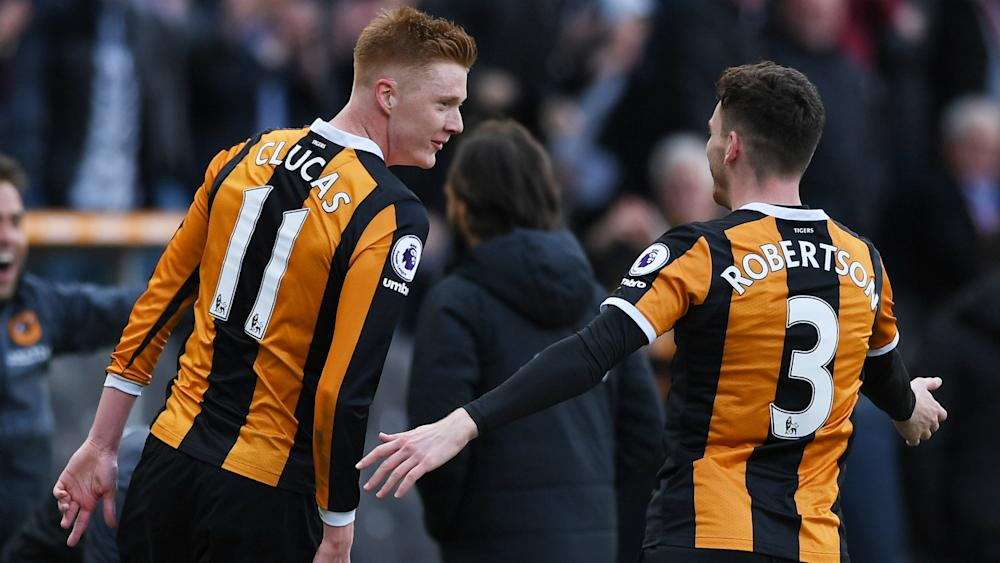 Sam Clucas Hull City Premier League