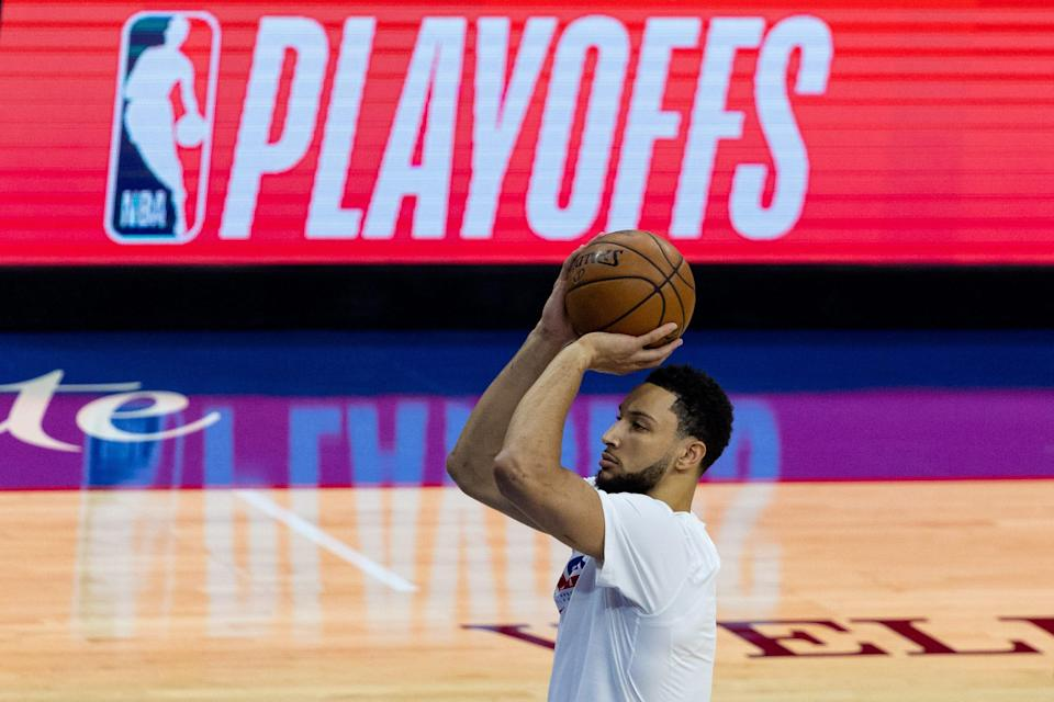 Ben Simmons' shooting woes (he shot just 34.2% from the free-throw line in the playoffs) may lead to his exit from Philadelphia.