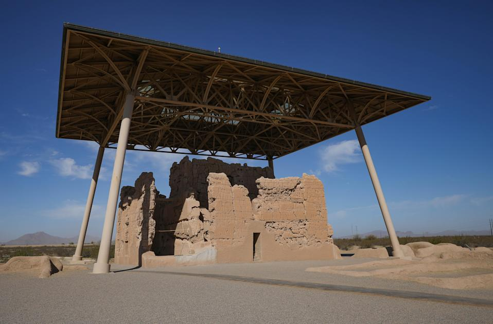 In 1892, the Casa Grande ruins and the 480 acres surrounding became the nation's first federally protected archaeological site. Now, archeologists and some politicians are trying to expand its boundaries.