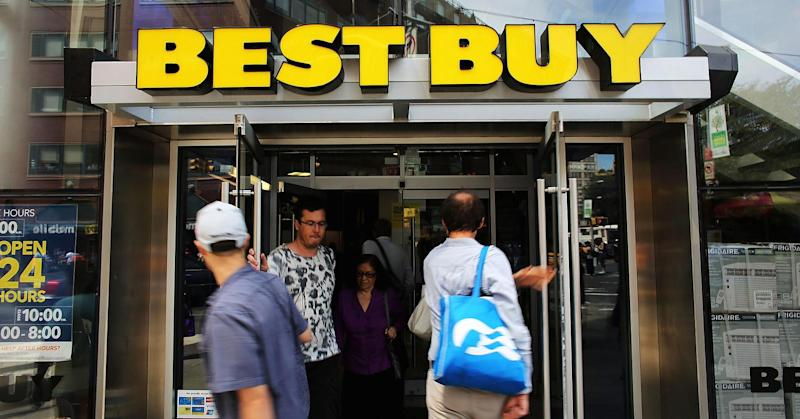 Best Buy earnings, sales top Street estimates; stock jumps 4%
