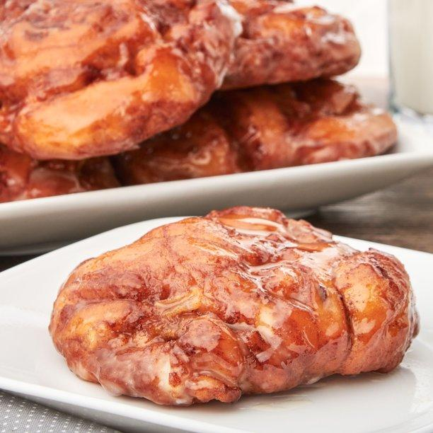 Apple fritters are perfect for breakfast, a snack, or dessert. (Photo courtesy of Walmart)