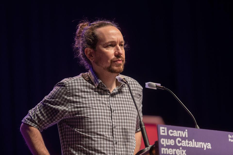 Pablo Iglesias. (Photo: GETTY)