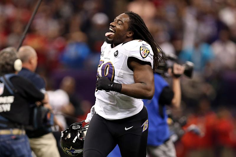 Dannell Ellerbe was a quiet force for the Baltimore Ravens when they beat the San Francisco 49ers in Super Bowl XLVII. (Photo by Christian Petersen/Getty Images)