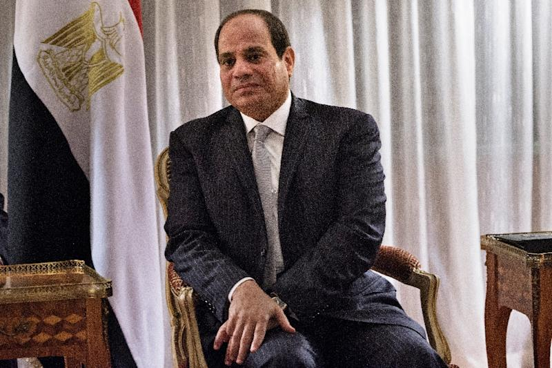 Egyptian President Abdel Fattah al-Sisi had strained relations with outgoing President Barack Obama's administration