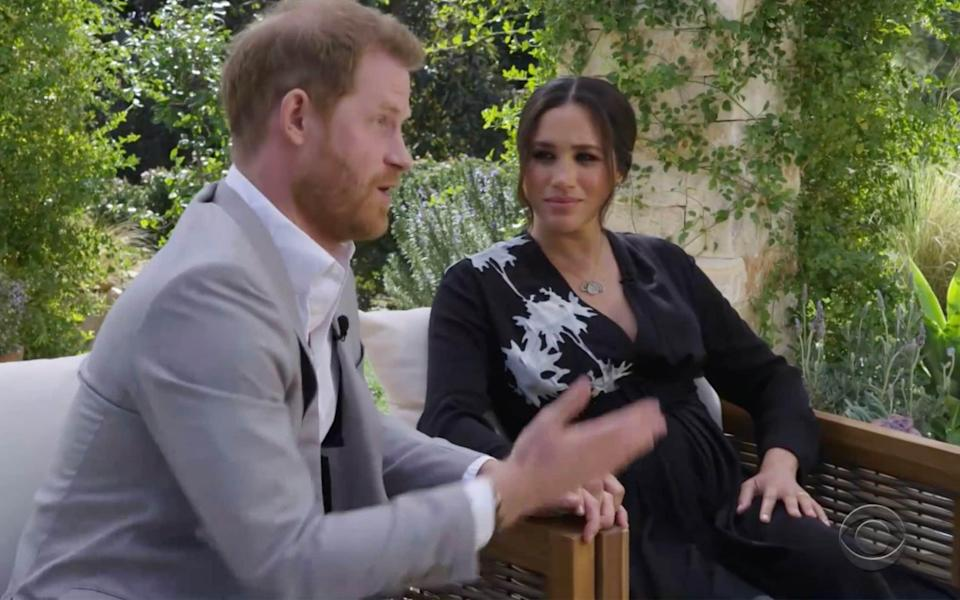 harry meghan claims racism interview royal family why is archie not a prince