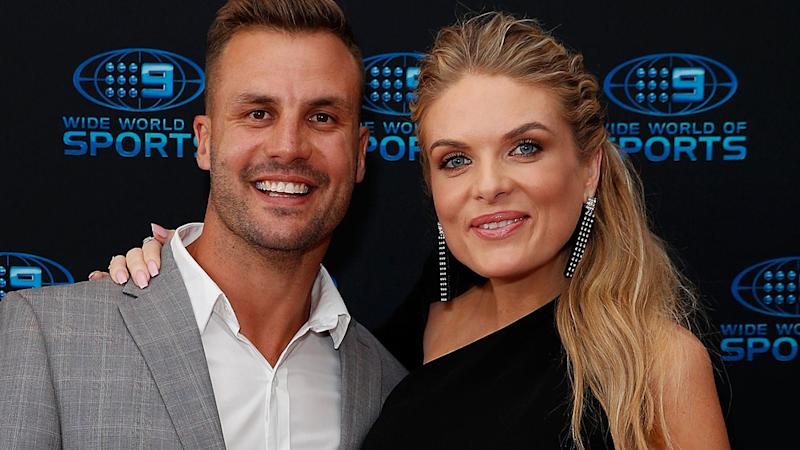 Beau Ryan and Erin Molan, pictured here in 2018.