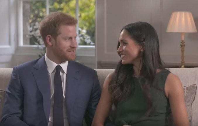 Earlier in the week Prince Harry and Meghan Markle did their first television interview together, in which they revealed just how the royal asked the Suits actress to marry him. Source: BBC