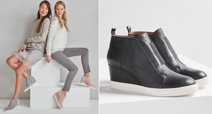 The 'Felicia' Wedge Sneaker by Linea Paolo is on sale for 40% off at Nordstrom.