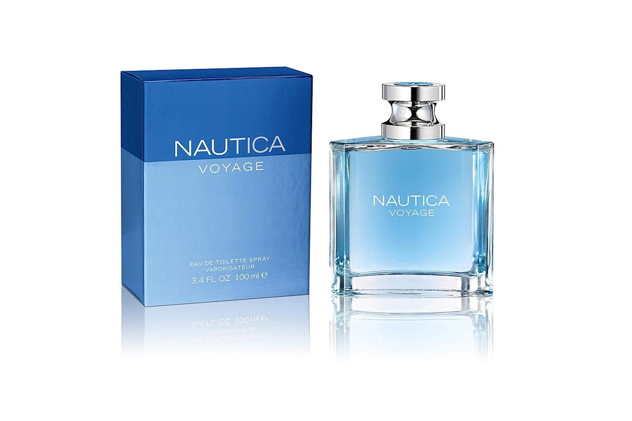 "$13, Amazon. <a href=""https://www.amazon.com/Nautica-Voyage-Eau-Toilette-Spray/dp/B000P22TIY/"">Get it now!</a>"