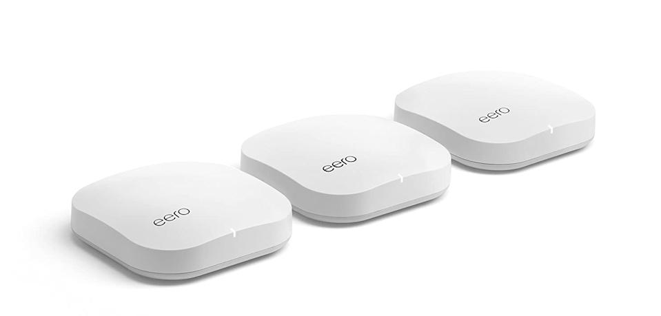 The Eero mesh router system can help bring Wi-Fi connectivity to your entire home. (Image: Eero)
