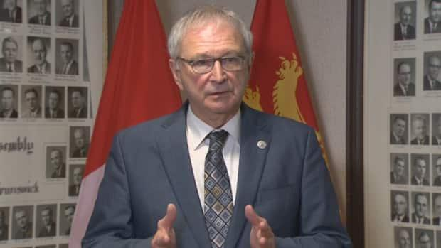 Premier Blaine Higgs said Social Development and Public Health have been calling long-term care homes directly about their levels of vaccination and the risk that their workers and residents could be in.  (Joe McDonald/CBC - image credit)