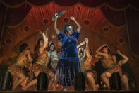 """This image released by Netflix shows Viola Davis in """"Ma Rainey's Black Bottom,"""" named one of the top 10 films of the year by The American Film Institute. (David Lee/Netflix via AP)"""