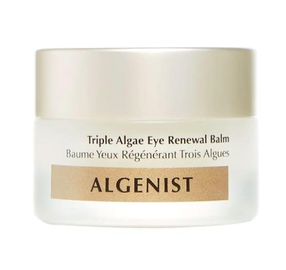<p>The <span>Algenist Triple Algae Eye Renewal Balm with Multi-Peptide Complex</span> ($68) has a smooth, balmy texture and is formulated to address dark circles, puffiness, and fine lines in your under-eye area.</p>